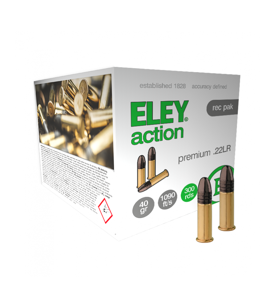 ELEY action 300 rec pak recreational ammunition